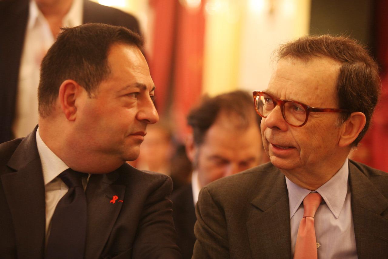 Jean-Luc Romero et Louis Schweitzer