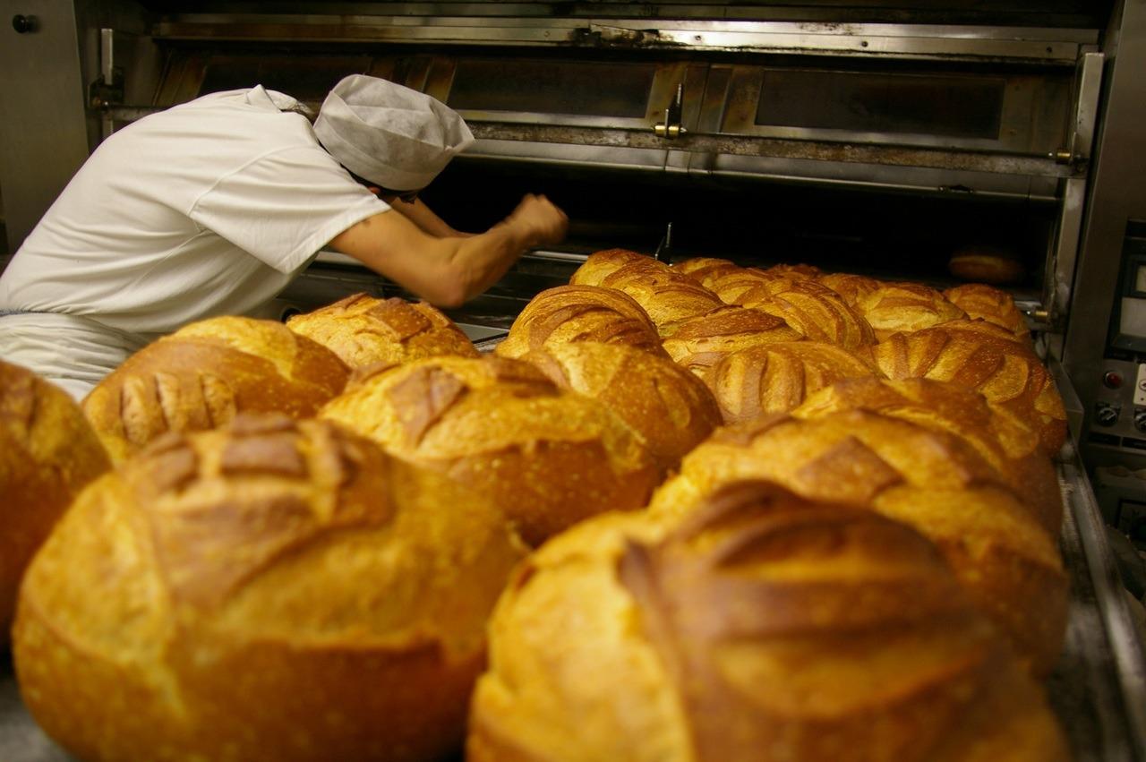 Boulanger au fourneau