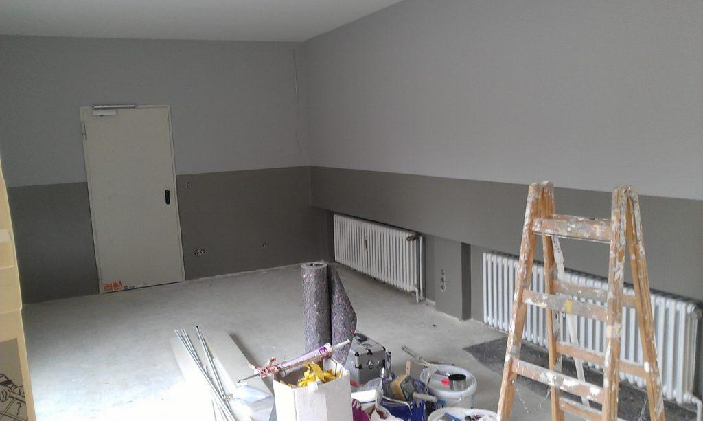 Intérieur de maison en rénovation